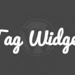 「タグクラウド」ウィジェット カスタマイズ