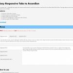 タブを画面サイズによってアコーディオンにしてくれる「Easy Responsive Tabs to Accordion」