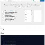select(list)ボックスを左右に並べて視覚的に使いやすくしてくれる「Multiselect」