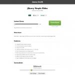 数値入力スライダー「jQuery Simple Slider」