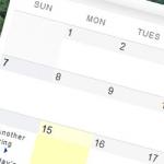 「カレンダー」ウィジェット カスタマイズ・プラグイン