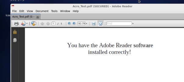 Adobe Reader on CentOS